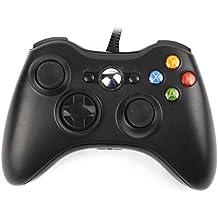 USB Wired Gamepad Controller for Xbox 360 & PC Windows 7 (x86), Windows 8 (x86) Black
