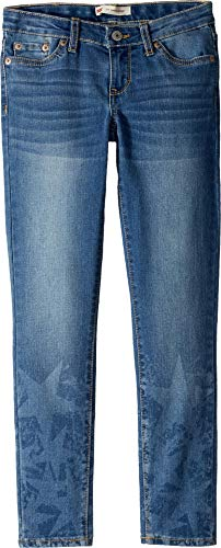 Levi's Big Girls 710 Ankle Super Skinny Jeans, west Lake, 14 by Levi's