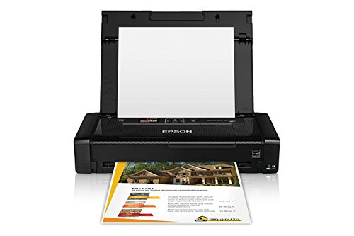 Epson WorkForce WF-100 Wireless Mobile Printer Wi-Fi Direct USB (Renewed)