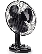 Ventilateur de table Tristar VE-5931 – 30 cm – Oscillant – Noir