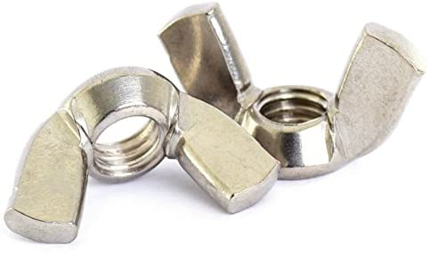 WING  NUT M5 5MM A2 STAINLESS STEEL WING  BOLT WASHERS