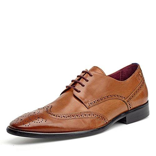 Digel Budapester Leder Schuh Speaker1001904, Groesse 41, Cognac