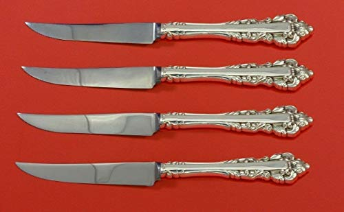 Medici New by Gorham Sterling Silver Steak Knife Set 4pc HHWS Custom 8 1/2