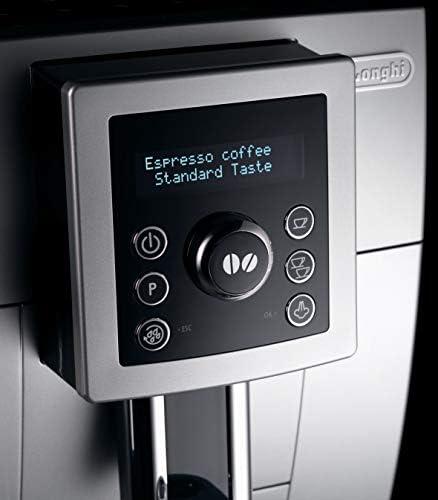 De'Longhi Machine expresso avec broyeur, ECAM23.420 SW, Argent et Blanc
