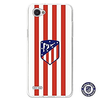 Atlético de Madrid Carcasa Oficial Escudo Rojiblanco LG Q6 ...