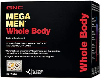 GNC Mega Men Whole Body – 30 Packs