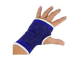 2 Pc Elastic Wrist Glove Palm Hand Support Arthritis Brace Sleeve Bandage Wrap