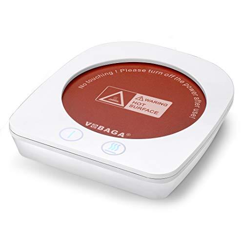 VOBAGA Coffee Warmer & Mug Warmer for Office/Home Desk Use,24Watt Electric Cup Beverage Warmer Plate...