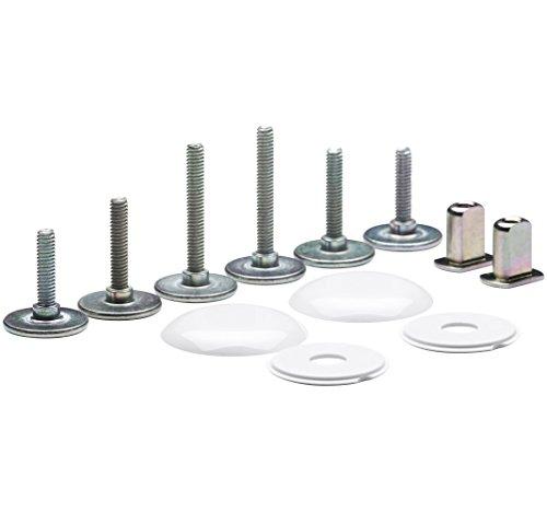 KOHLER K-5420-0 Clean Low Profile Toilet Bowl Caps, White