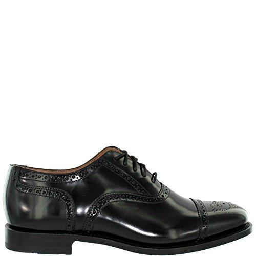Loake - Zapatos de cordones de cuero para hombre Black