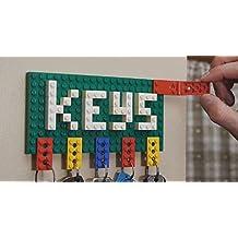 Lego keychain holder wall keys organizer key holder wall mounted