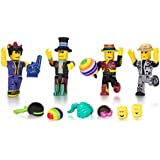 Roblox Mix & Match Action Figure 4 Pack, Disco Madness