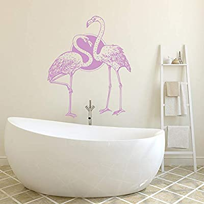 YuanMinglu Flamingo Bird Wall Sticker Decor Sala de Estar ...
