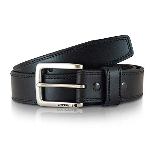 Carhartt Men's Casual Belt, Double Black, 42