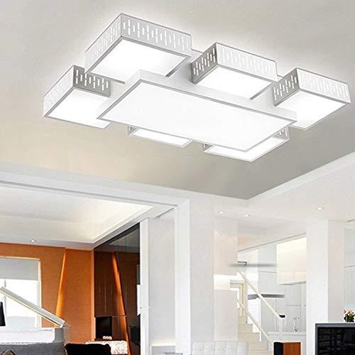 HKHJN Sky City Seven LED Plafoniere Lampade da soggiorno ...
