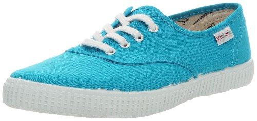 Victoria Inglesa Lona 6613, Zapatillas de Tela Unisex Azul (Turquesa)