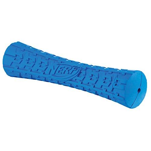 Nerf Dog Tire Squeak Stick Dog Toy, Red, Medium to Large