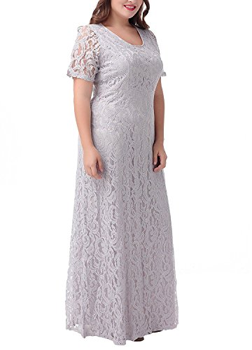 A Fanciest Silber Linie Damen Kleid Bppx5w4q