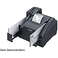 Epson A41A267031 TM-S9000 Multifunction Scanner and Printer, 110DPM, Direct Thermal, USB, 1 Pocket, Dark Gray