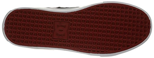 DC Herren Lynx Schnür Mode Sneaker Schwarz / Rot / Grau