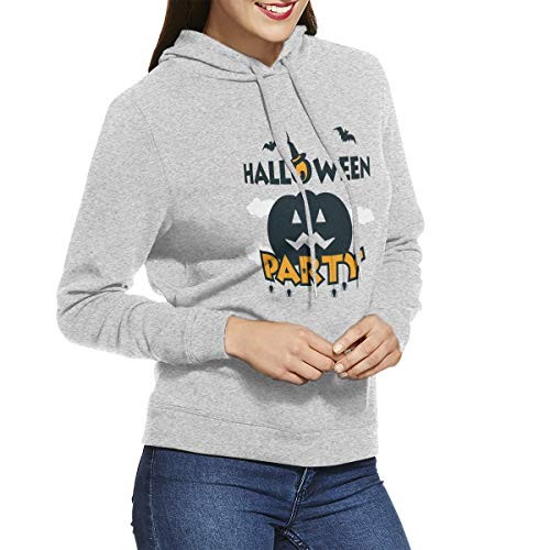Womens Hoodies Halloween Pumpkin Background Decoration Special Sweatshirts Hoodie Long Sleeve Shirt]()