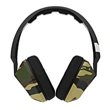 Skullcandy Crusher Over-Ear Headphones with Mic - Camo/Slate/Orange