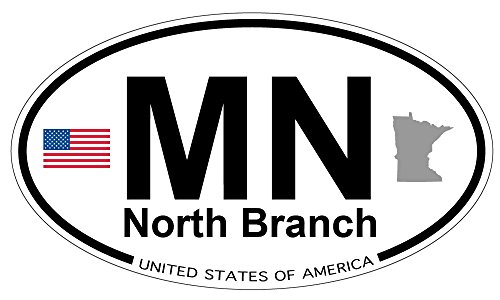 North Branch, Minnesota Oval Sticker
