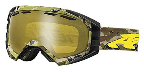 Arnette Mercenary Snow Goggles AN5002 For Skiing and Snowboarding (Camo Yellow w/ Honey Chrome - Goggles Arnette Ski