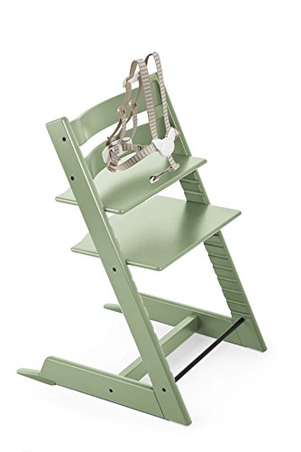 Stokke tripp trapp cushion green forest baby for Stokke tripp trapp amazon