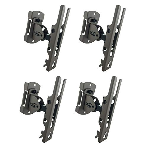 Cuddeback Genius Pan Tilt Lock Mount with Universal Adapter and Mounting Screws, -
