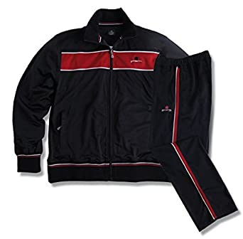 Chándal oversize negro-rojo Ahorn, 2xl-8xl:9xl: Amazon.es: Ropa y ...