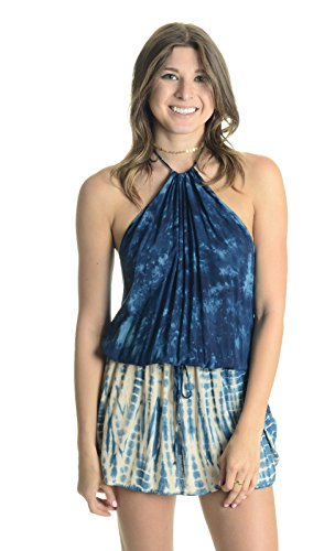 Planet Blue Life Women's Island Halter Dress, Tahiti, X-Small by Planet Blue