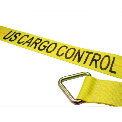 4'' x 30' Winch Straps with D-Ring - 10 Pack by US Cargo Control (Image #1)