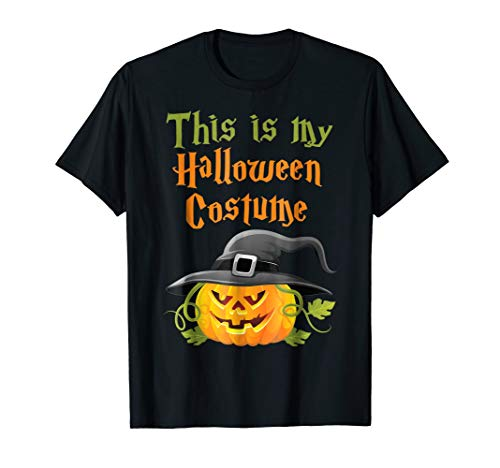 This is my Halloween Costume Funny T-Shirt]()