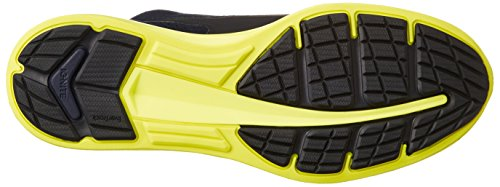 Puma Ignite Sock - peacoat-safety yellow Blau