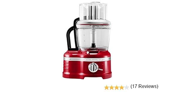KitchenAid 5KFP1644 - Robot de cocina (Rojo, Transparente, 13,6 kg ...