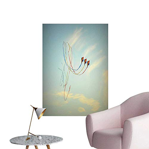 SeptSonne Wall Painting The Kite Under The Sky High-Definition Design,24