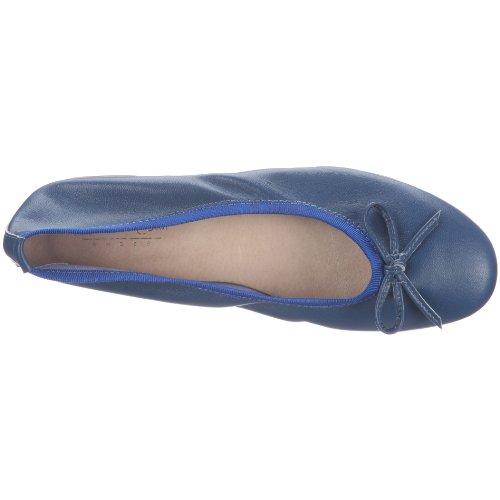 para Azul Blau de 0591226 0591226 cuero Bailarinas Kobalt Conti Andrea mujer naTYwq8q7