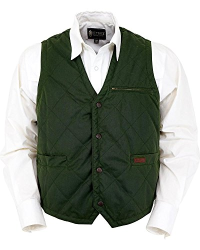 Outback Trading Co Men's Co. Green Drover Vest Green XX-Large by Outback Trading