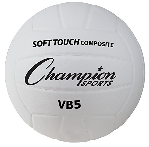 Champion Sports Deluxe Syntex Leather Volleyball (Sport Volleyball Water Deluxe)