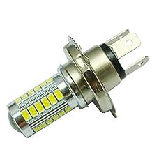 Kimloog H4 Super Bright 5630 SMD 33-LED 12V Auto Car White Fog Lamp Light bulb Driving