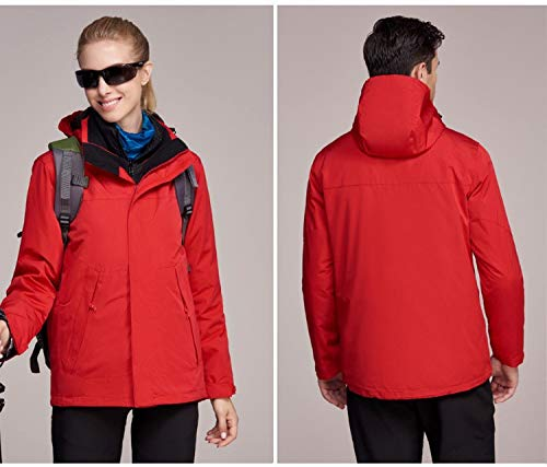 outdoor HOME piece detachable female XYL mountaineering one jacket jacket liner sports piece down red two Two in three SddpIw