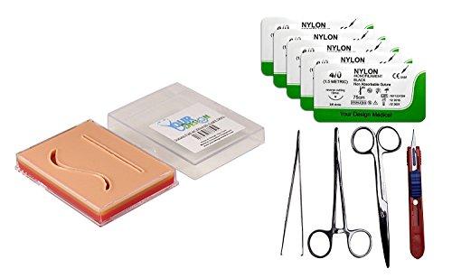 suture-pad-practice-combo-kit-3-layer-pocket-pad-tools-5x-4-0-nylons