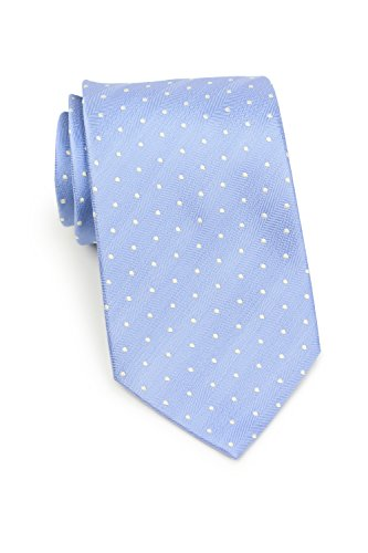 cktie Polka Dot Silk Handwoven Matte Tie 3.25 Inches (Sky Blue) ()