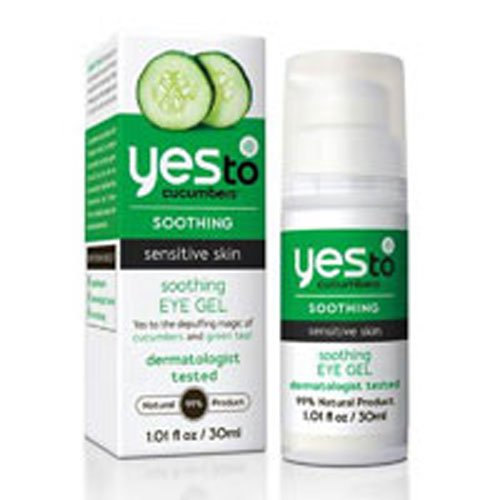 Yes To Cucumbers Soothing Eye Gel 1.01 FZ (Pack of 2)