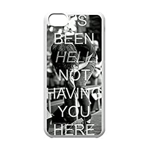 Diy iPhone 6 plus Classical Style Case with Sleeping With Sirens Lightweight Plastic Protective Back Cover for iPhone 6 plus -White052805