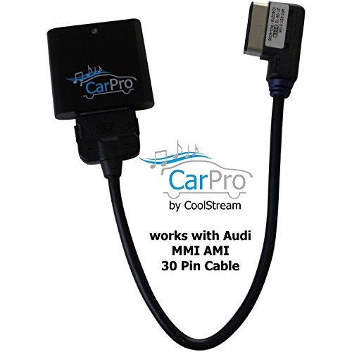 Bluetooth Adapter for Audi and Volkswagen iPod iPhone AMI Cable – CoolStream CarPro