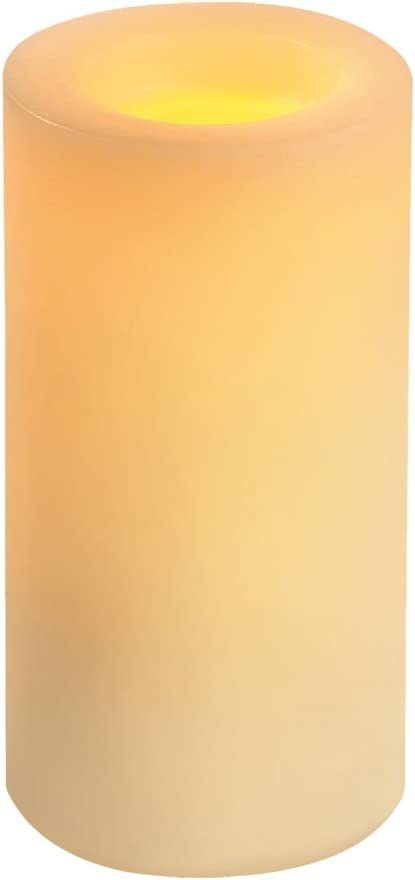 Sterno Home CGT54600CR01 Flameless Candle, Cream