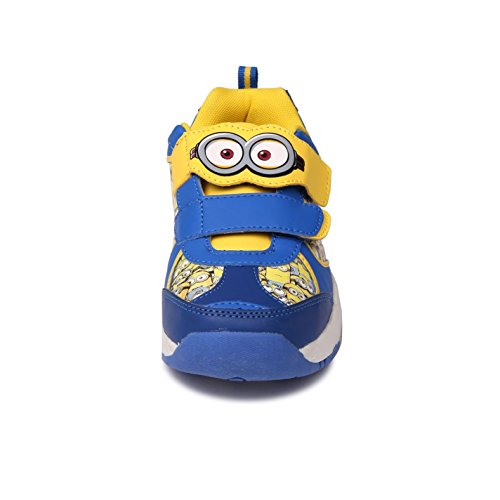 Despicable Me , Jungen Sneaker mehrfarbig blau / gelb