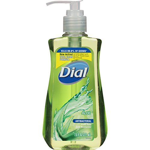 Dial Antibacterial Liquid Hand Soap, Aloe, 7.5 Fluid Ounces (Pack of 12) by Dial (Image #2)